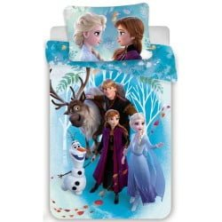 Disney Frozen 2 voodipesukomplekt 100x135 cm