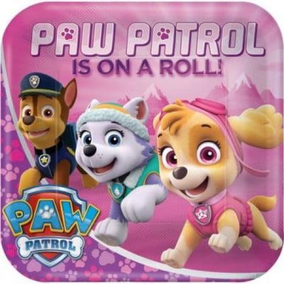 Paw Patrol pabertaldrikud