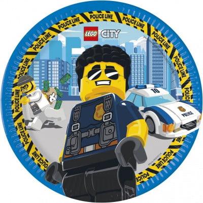 Lego City pabertaldrikud