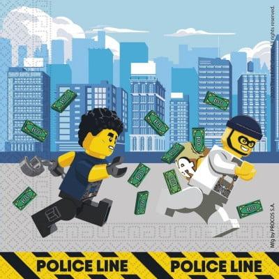 Lego City salvrätikud