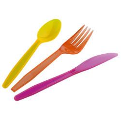 Värvilised söögiriistad