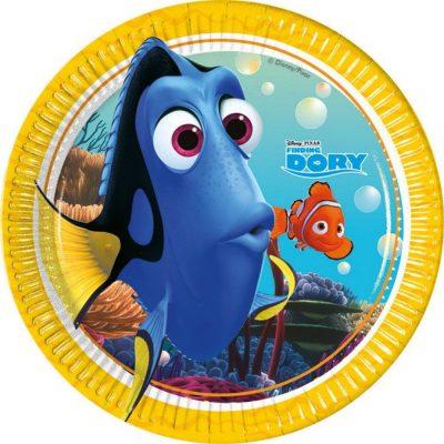 Nemo ja Dory pabertaldrikud